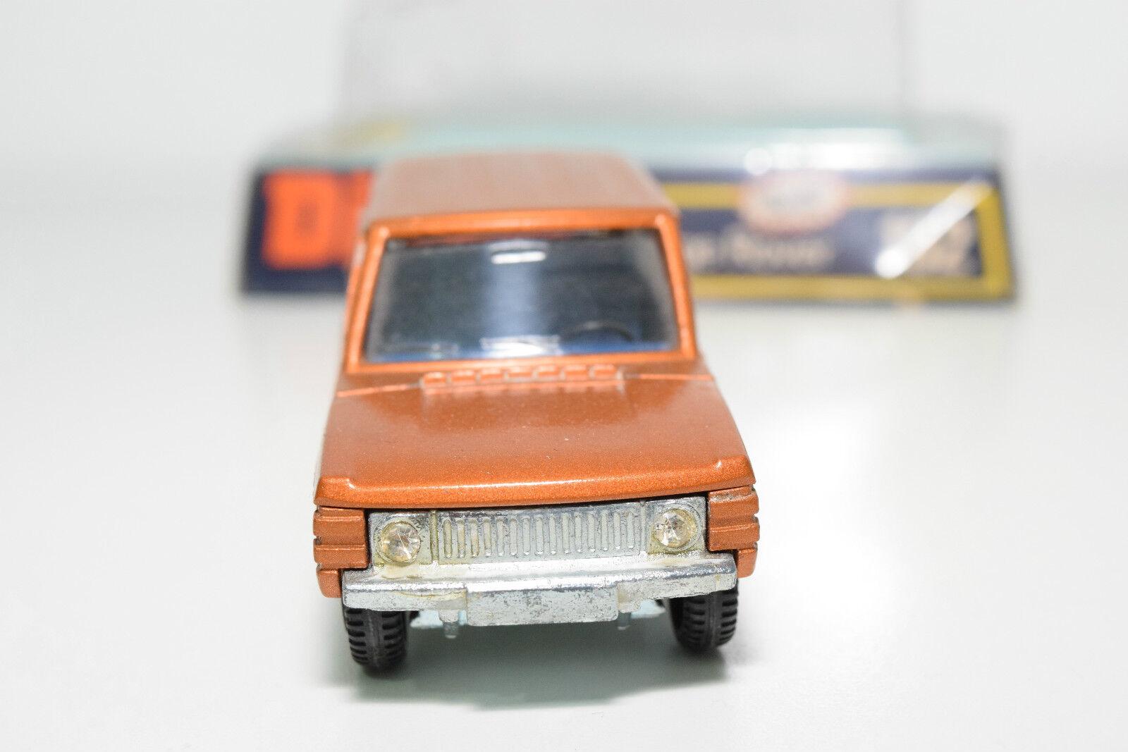 DINKY TOYS 192 RANGE ROVER METALLIC BRONZE MINT BOXED BOXED BOXED RARE SELTEN RARO 7a6c09
