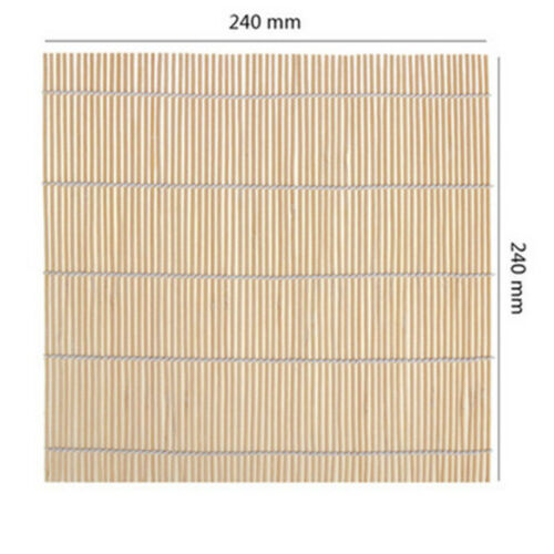 Sushi Rolling Bamboo Mat Maker Kit Rice Roll Mold Kitchen Rice Paddle Mould Roll