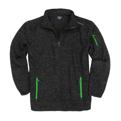 Fleece Size 14xl Jacket Men 3xl For Ottica Plus From In lavorata a Brigg maglia a xxr416