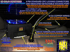 2006-2011 Honda Civic Hybrid IMA Battery Grid Charger w/ Fan Controls, Docking!