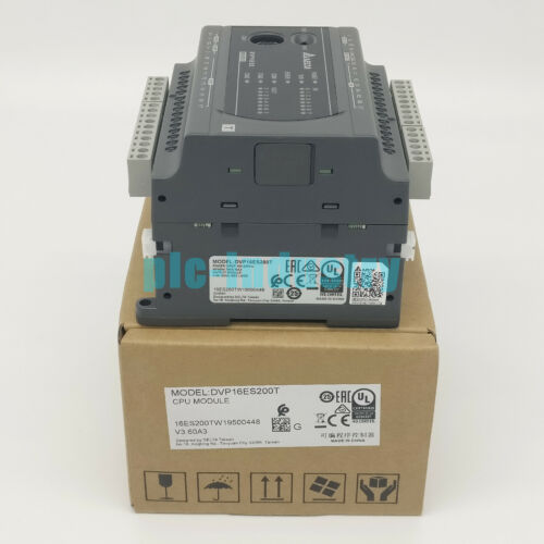 Brand New Delta DVP-16ES200T programmable controller One year warranty /&PI