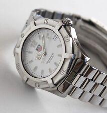 TAG HEUER Luxury Watch for men, WK1111 Aquaracer model, FULL SIZE 42mm, White