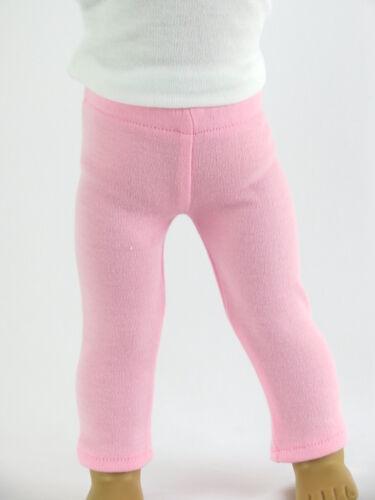 "18/"" Doll Pink Leggings fits 18/"" Girl Doll Pink Leggings"