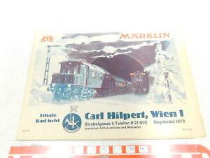 No. Bw331-0,5 # Märklin 00 / Voie 0 Etc Katalog Mois 37. Ö Ol.9.37 Schilling De 1937