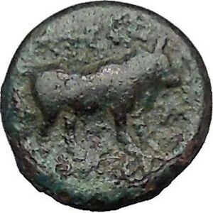 Boione-in-Aiolis-300BC-Rare-Authentic-Ancient-Greek-Coin-Female-BULL-i49024