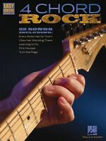 4 Chord Rock Sheet Music Easy Guitar With Notes & Tab Easy Guitar Book 000702281