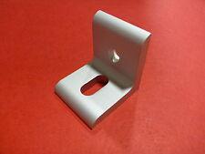 Tnutz Anodized Aluminum 2 Hole Slotted Inside Corner Bracket 15 Series Cbs 015 A