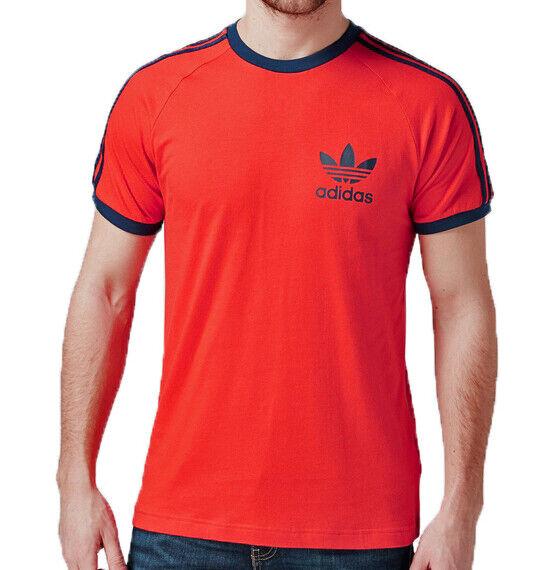 8914942ddbd43 Adidas Men's Cotton Sports Originals T-Shirt, Red