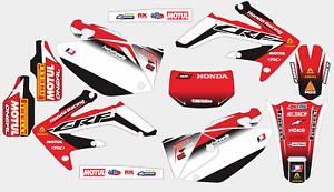 RACING RG3 HONDA CRF 250 X 2004-2016 DECAL STICKER GRAPHIC KIT
