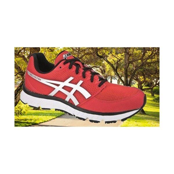Los últimos zapatos de descuento para hombres y mujeres Chaussures De Sport Running De Course Gel Asics Volt 33 Rouge