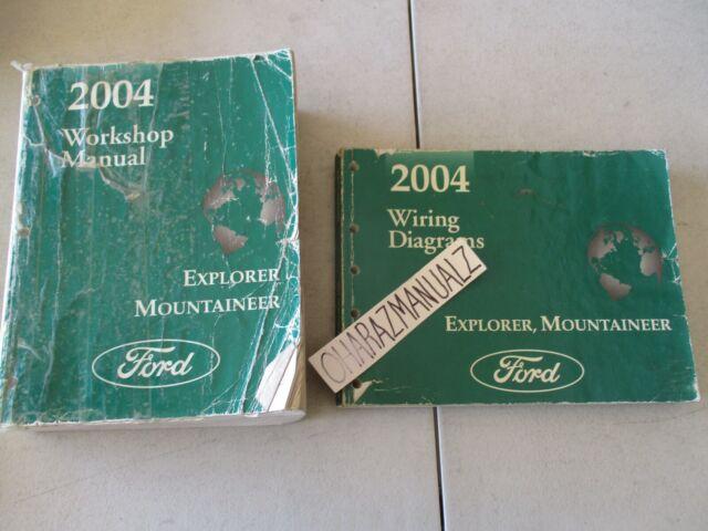 2004 Ford Explorer  U0026 Mountaineer Wiring Diagrams  U0026 Service Manual Manuals Oem