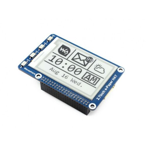2.7inch E-Ink Display 264x176 E-paper for Raspberry Pi 2B//3B//3B+//Zero//Zero W