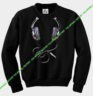 DJ Music Tyga Dope Hip Hop talented Underrated 00 Mens Black Sweatshirt