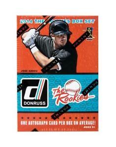 2014-Panini-Donruss-The-Rookies-Baseball-Factory-DeGrom-Betts-Springer-Set-Box
