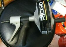 Ridgid 57038 Kwik Spin Manual Hand Held Drain Clog Auger Cleaner New