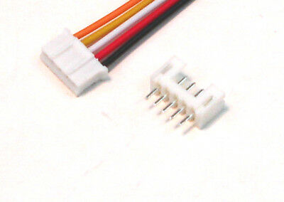 10pcs 1.25mm Pitch Double Header 30CM 5Pin Terminal Wire Electronic Cable