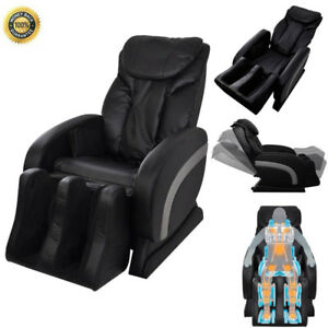 Image Is Loading Electric Massage Recliner Chair  Recliner Artificial Leather Adjustable