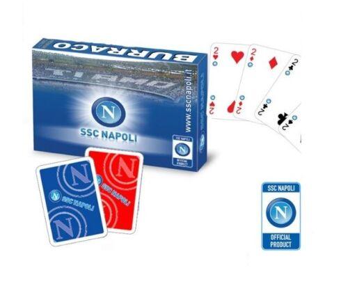 SSC Napoli Französische Karten original carte francesi Burraco Scala 40 poker