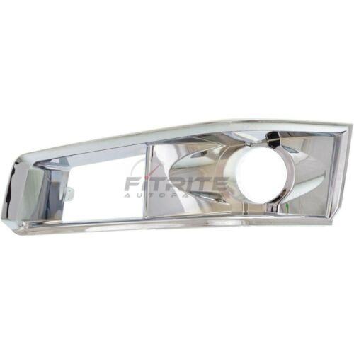 GM1039112 GM1038112 Set Of 2 Fog Light Bezel For 2008-2013 Cadillac CTS