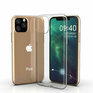Cover-for-Apple-IPHONE-11-Xi-Max-pro-Silicone-Skin-Case-Slim-Protection