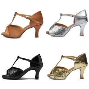 Brand-New-Women-Ladies-Latin-Ballroom-Dance-Shoes-High-heeled-Shoes
