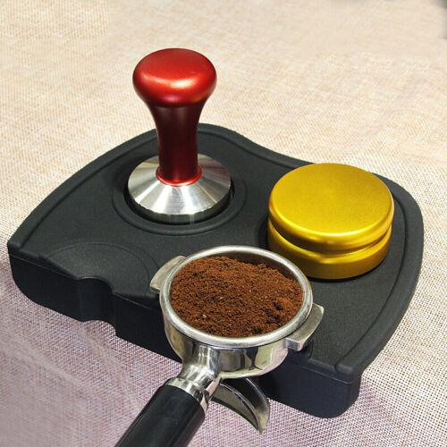 High Quality Silicone Espresso Coffee Press Corner Tamping Pad Tamper Mat Tool