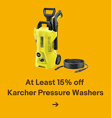 At Least 15% off Karcher Pressure Washers