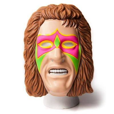 THE ULTIMATE WARRIOR WWE WWF FANCY DRESS UP WRESTLING MASK ADULT CHILD COSPLAY