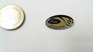 Ford Champions Legaue Fussball Logo Pin Badge Sponsor Uefa