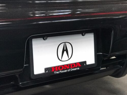 Acura License Plate Frame Honda Power of Dreams Pair Rare Limited Edition