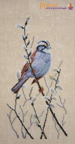 "/""Willow Branch/"" Mary Weaver Cross Stitch Kit Marya iskusnitsa 03.011.08"