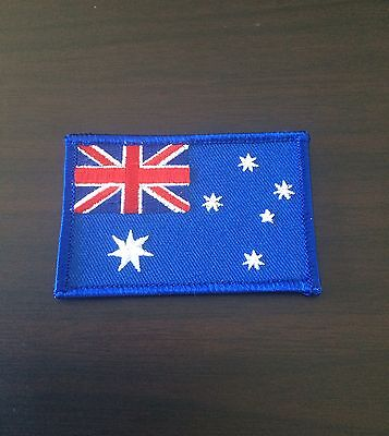 Flag Of Australia Embroidered Badges Australian Flag Iron-On Patches Sew Trim
