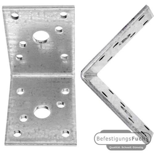 10 Standard Winkelverbinder zugelassen ETA-09//0355 60x60x45x3,0 mm ohne Steg