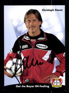 Christoph-Daum-Autogrammkarte-Bayer-Leverkusen-1998-99-Original-A-190280