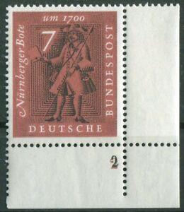 Bund-365-doppelte-Formnummer-2-auf-2-postfrisch-BRD-Eckrand-Ecke-4-MNH