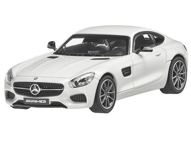 NOREV 2015 Mercedes Benz AMG GTS (C190) Diamond White 1 43 DEALER EDITIONNew