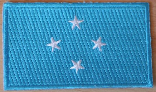 MICRONESIA Flag Embroidered PATCH Badge