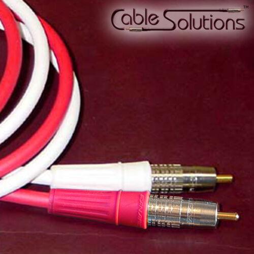 Canare Precision Stereo Audio Interconnect Cables 2.5m