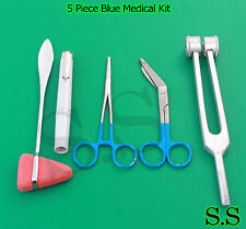5 Piece Medical Kit Diagnostic Emt Nursing Surgical Ems Student Paramedic