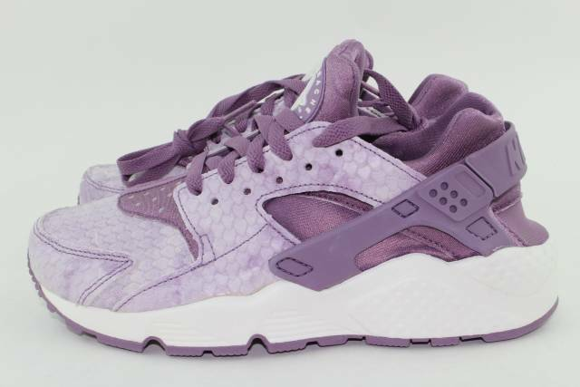 NIKE AIR HUARACHE RUN PREMIUM WOMAN Größe 7.0 lila DUST NEW RARE AUTHENTIC