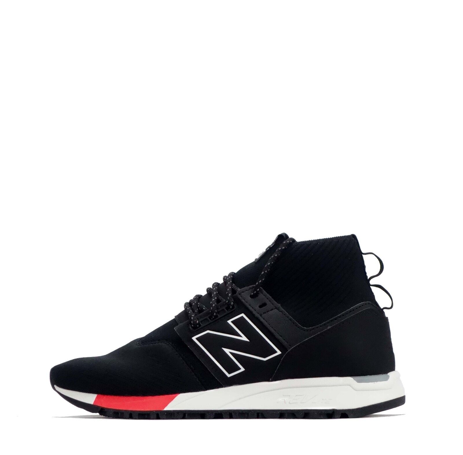 New Balance 247 Men's Ankle Mid shoes in Black White RRP 89.99