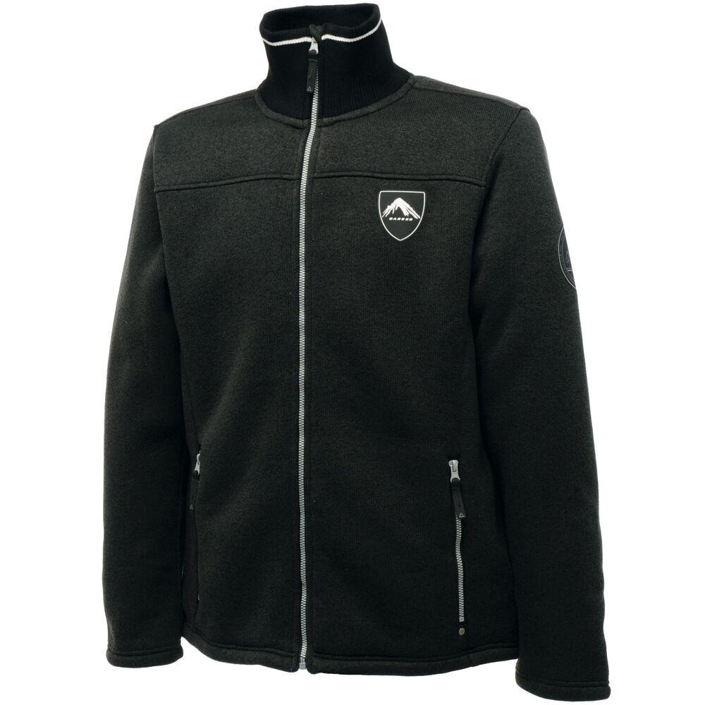Dare 2b prevail señores strickn Fleece chaqueta cálido y suave forro interior PVP 100