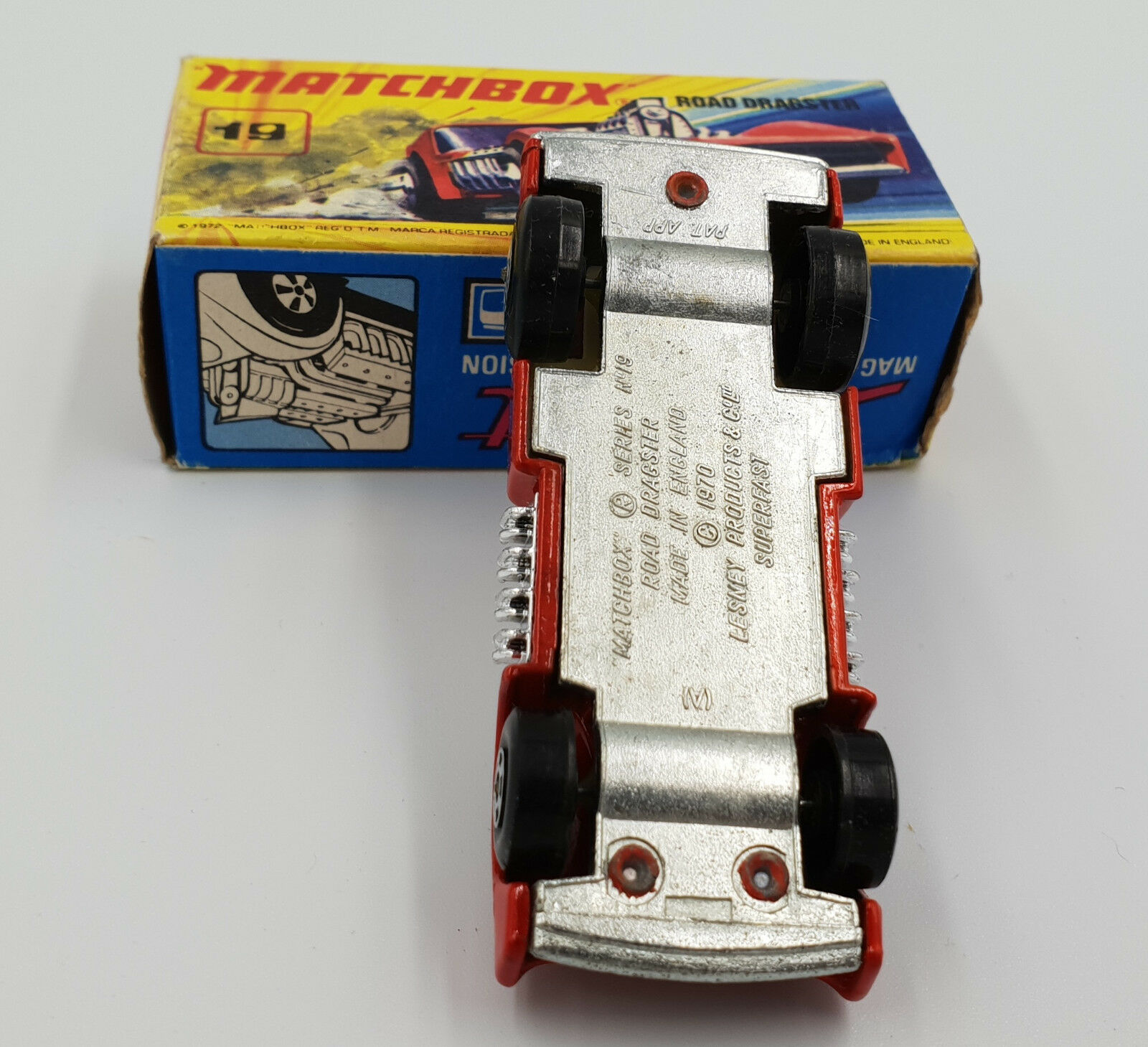Coches  Road Dragster (19) Modelo Matchbox hecha hecha hecha en 1972 (drmp) bac1ed