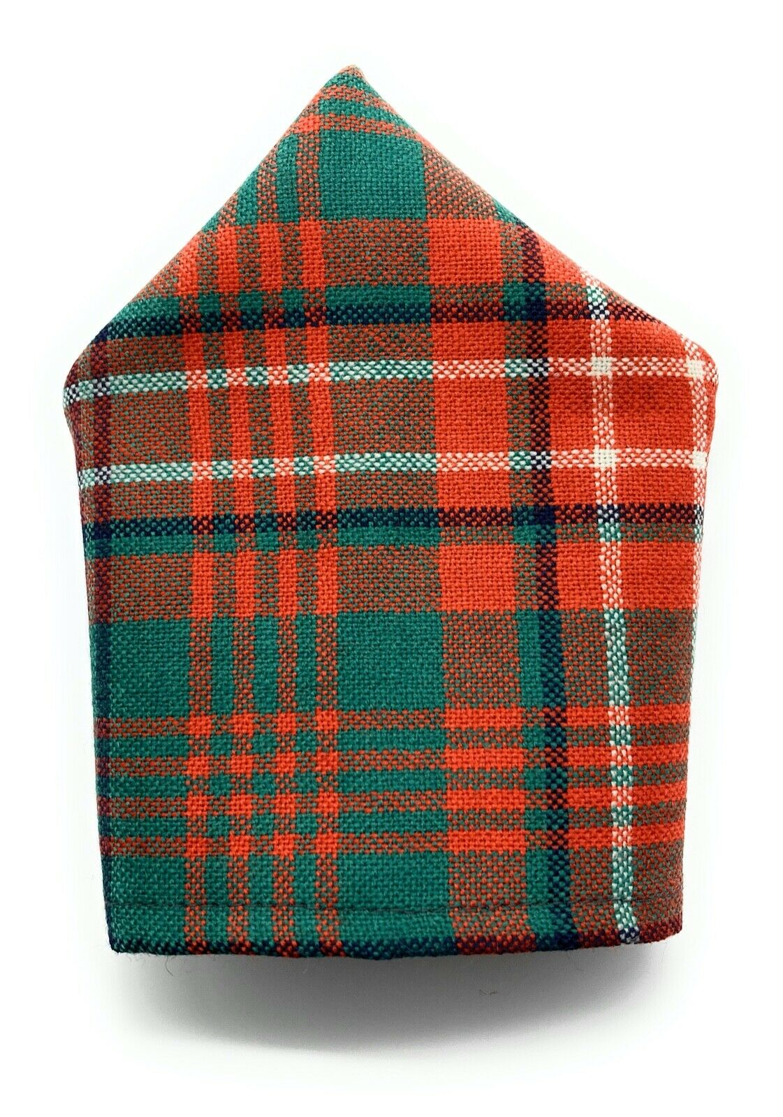 Gents Pure Wool Wilson Ancient Tartan Pocket Square - Made in Scotland