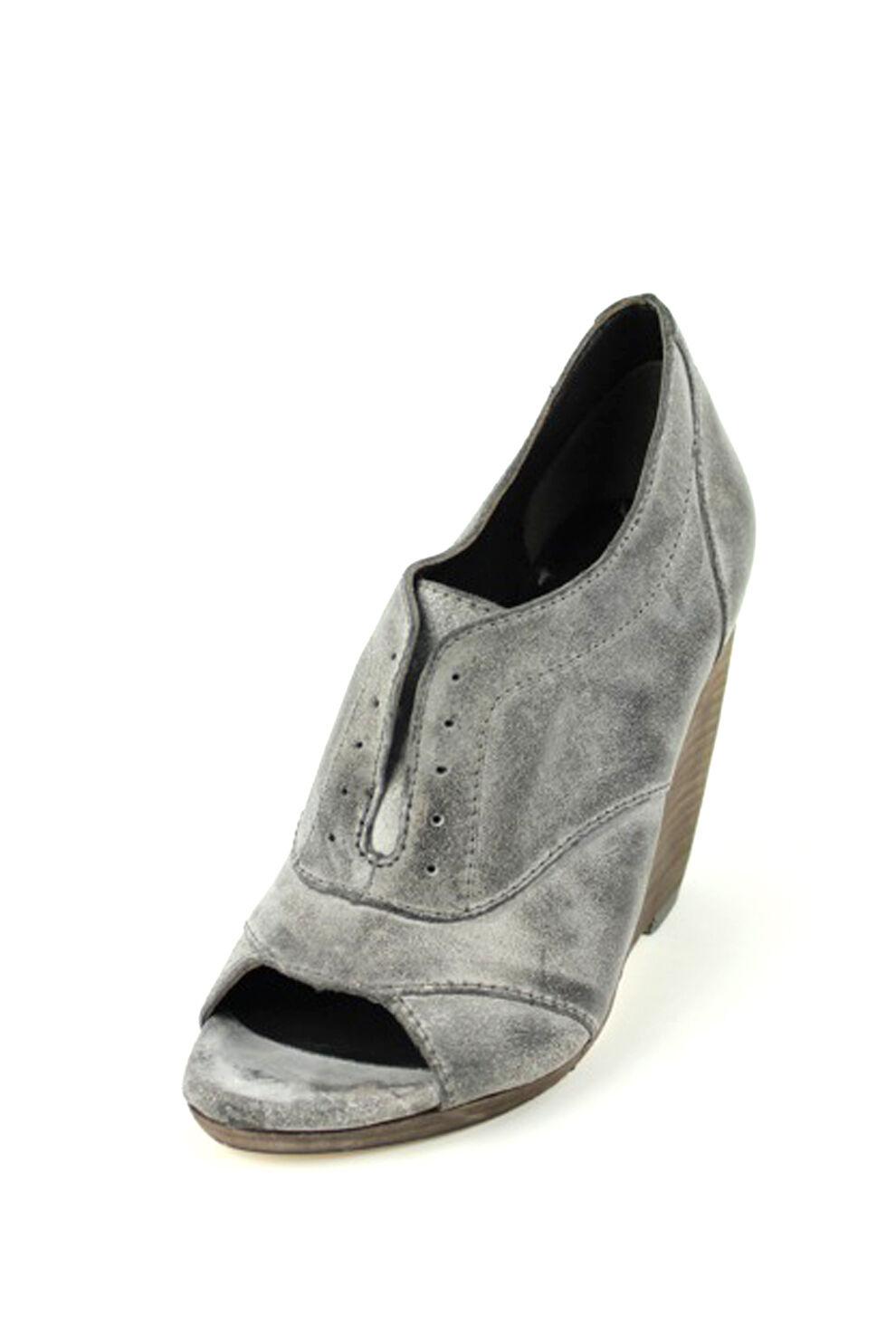 Joe's Jeans Cristy J1110 Open-Toe Pump Braun Grau 195 vintage classic Christy