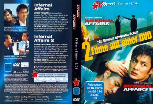 1 von 1 - Infernal Affairs 1 & 2 / TV-Movie-Edition 19/08 / DVD