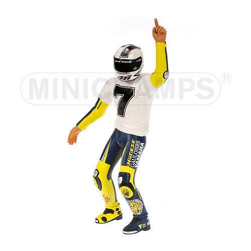 Figurine Valentino Rossi (ITA) 1 12 Yamaha 2005  7 times World Champion  Sepang