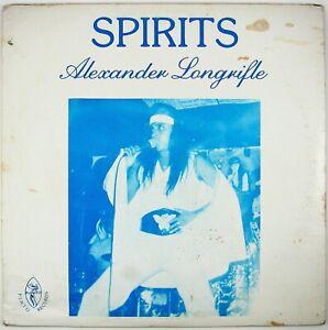 ALEXANDER-LONGRIFLE-Spirits-LP-1987-ROCK-FUNK-VG-NM