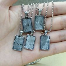 Meteorite pendant iron seymchan accessory necklace jewelry mineral amult 5pcs