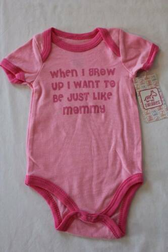 Baby Girls 6-9 Months Bodysuit Creeper Outfit Infant One Piece Mom Mommy